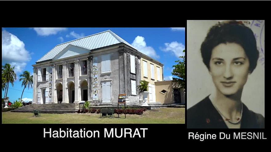 Tourisme Guadeloupe : Le Château Murat à Capesterre de Marie-Galante.  Régine Du Mesnil donne renaissance au Château Murat.
